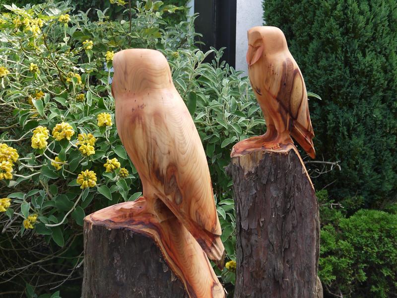 Image wooden bird sculpture wood sculptures uk hand carved
